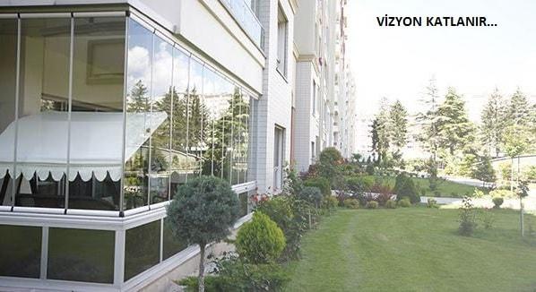 Vizyon katlamalı cam balkon