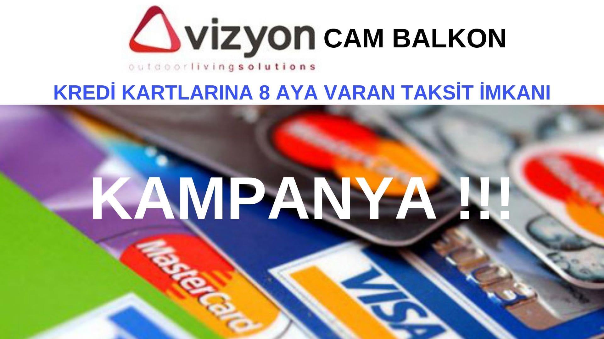cam balkon karta taksit İzmir