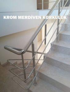 urla merdiven krom korkuluğu