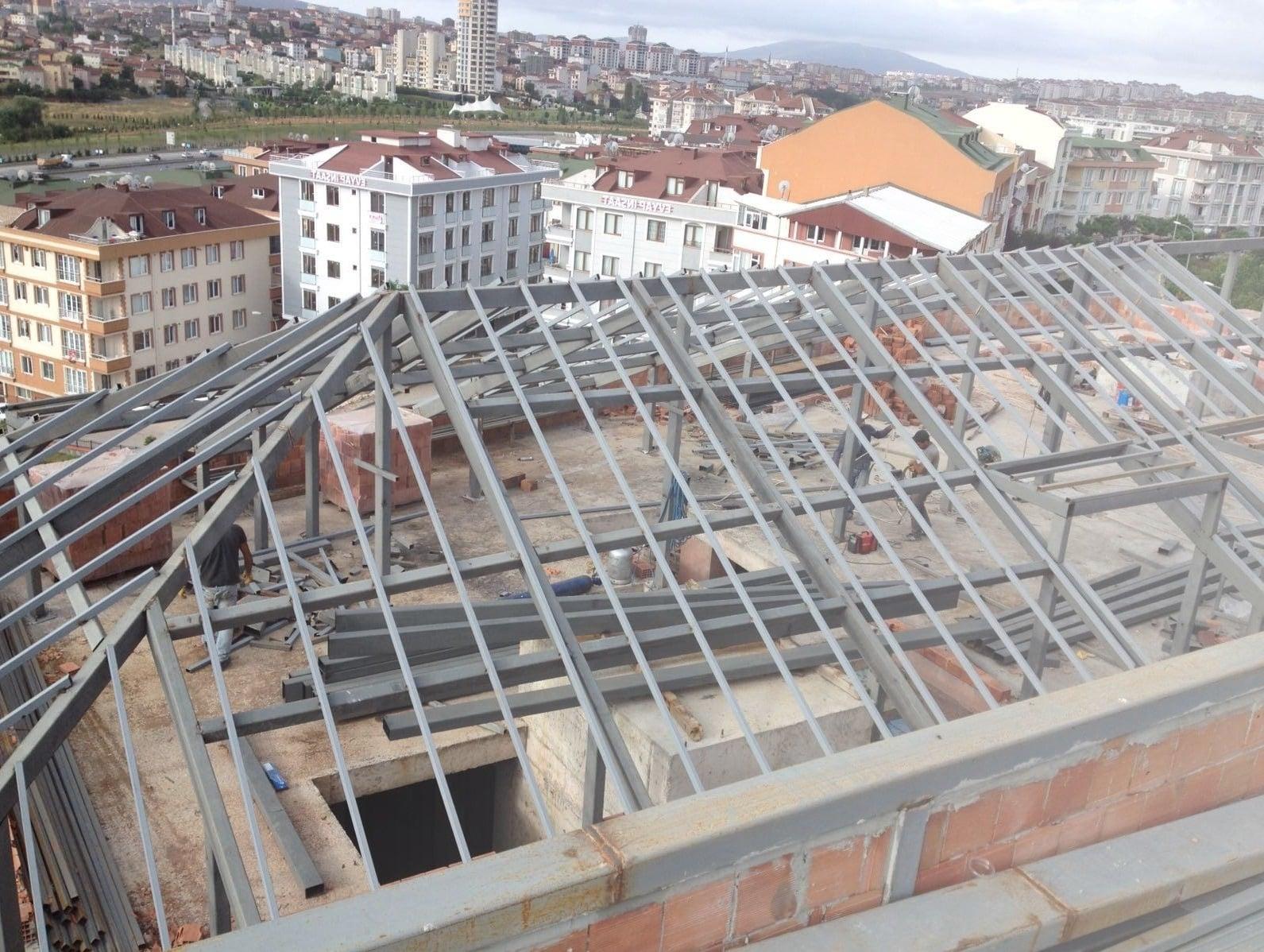 Demir çatı modelleri İzmir