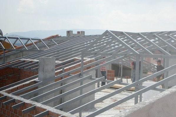 demir çatı uygulamaları İzmir