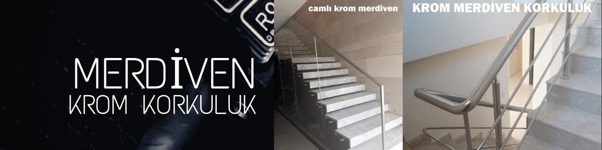 merdiven krom korkuluk izmir
