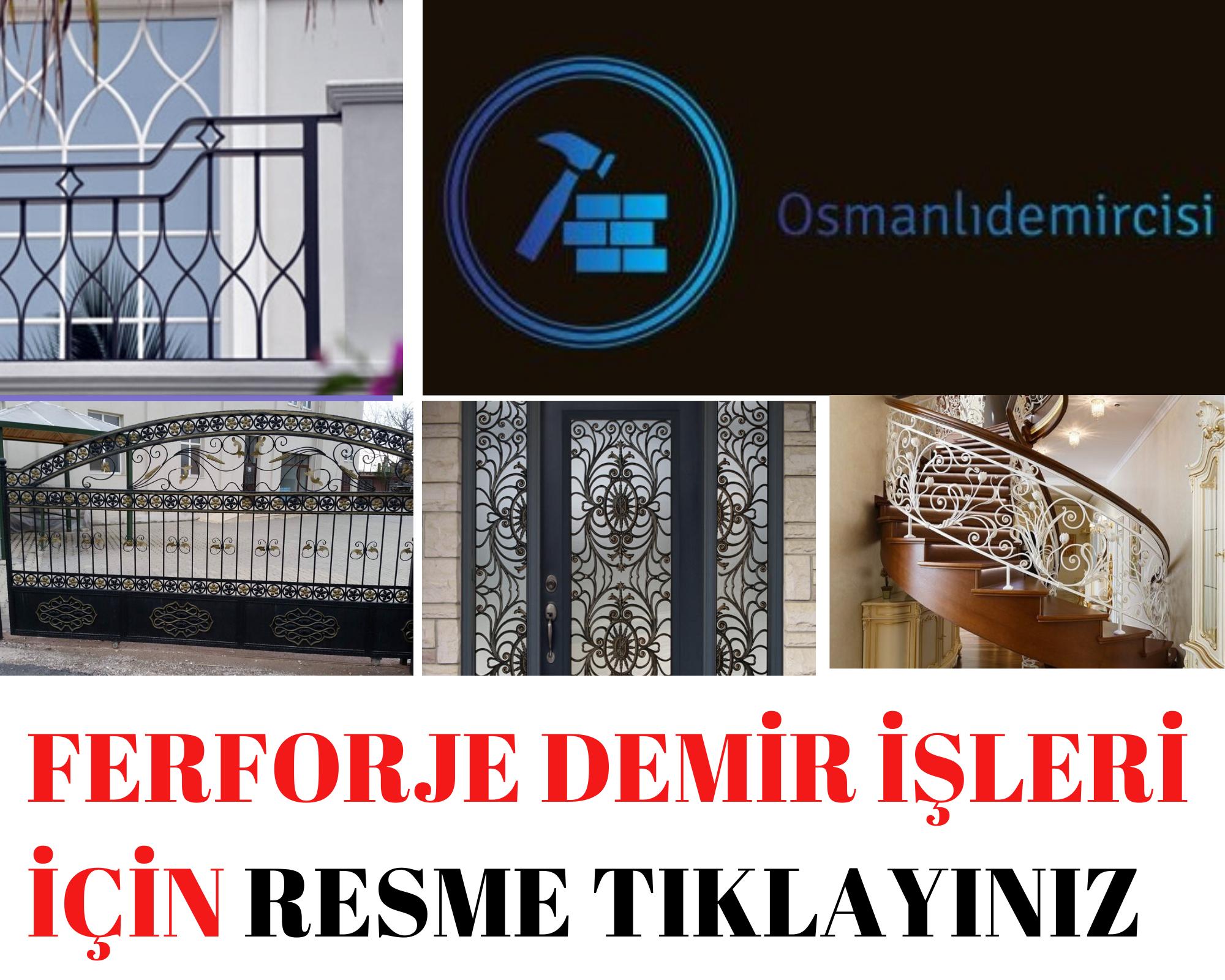 İzmir demir ferforje doğrama