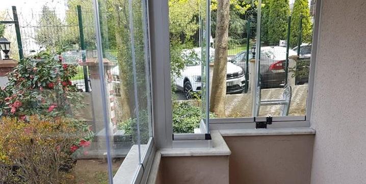 Slidex katlanır balkon camlama