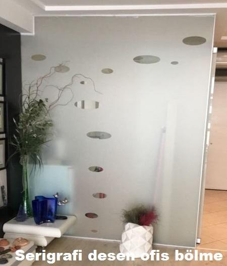 Ofis içi cam seperatör örnekleri