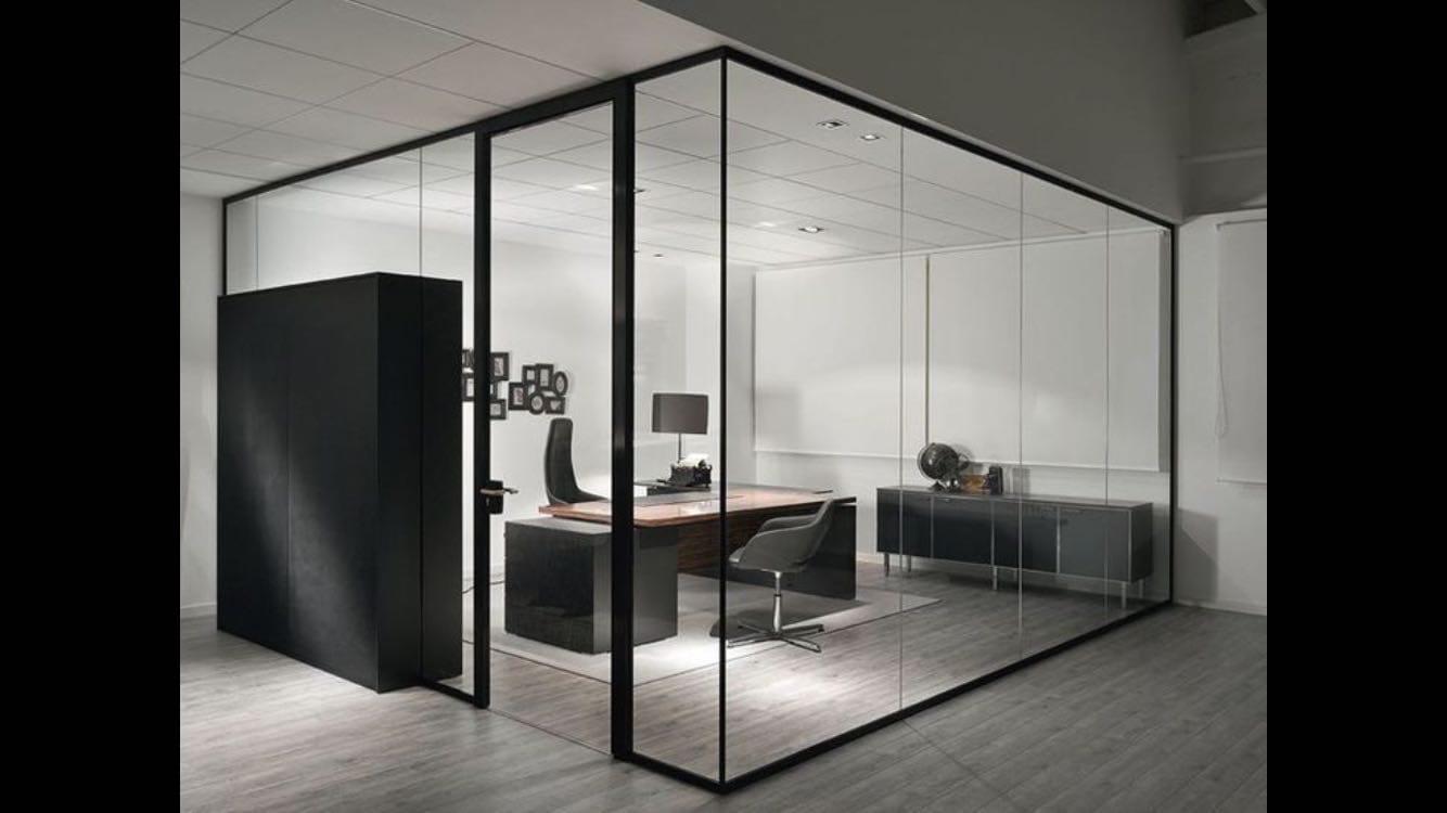 Ofis bölme kapı