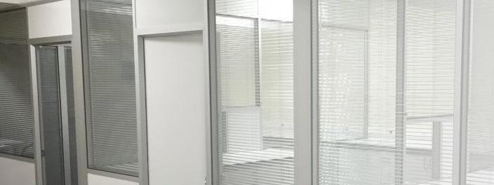 Alt sabit üst cam ofis bölme İzmir