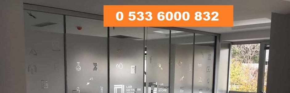 Büro cam bölme İzmir