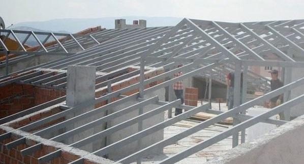 Demir çatı sistemleri İzmir