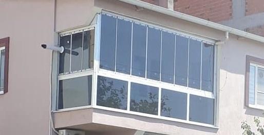 Katlamalı cam balkon İzmir