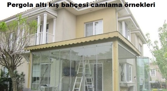 pergola altı cam balkon İzmir