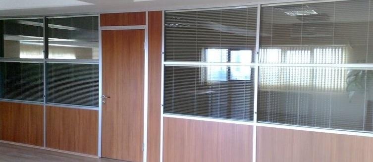 Yarı camlı ofis bölme Balçova
