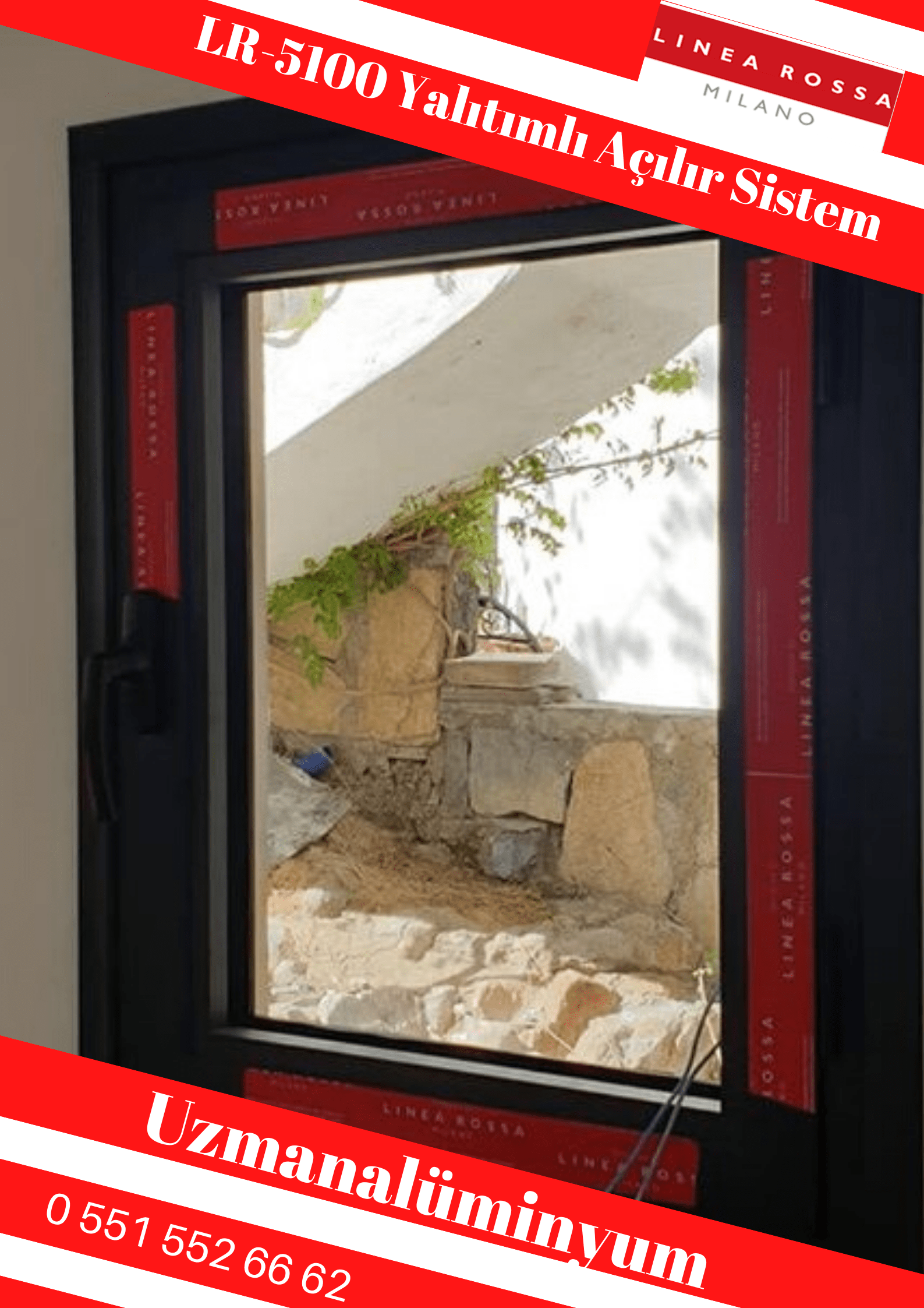 Linea Rossa LR-5100 kapı pencere İzmir