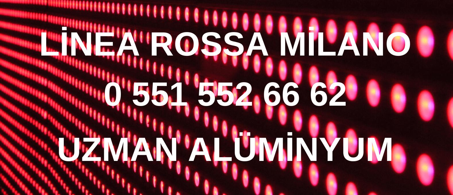 Linea Rossa Milano iletişim İzmir