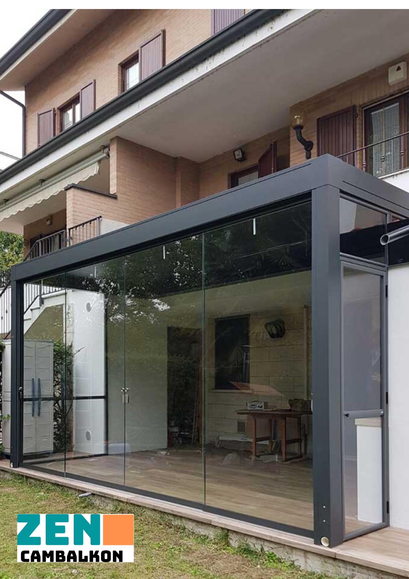 Antrasitgri sürmeli cam sistemleri İzmir