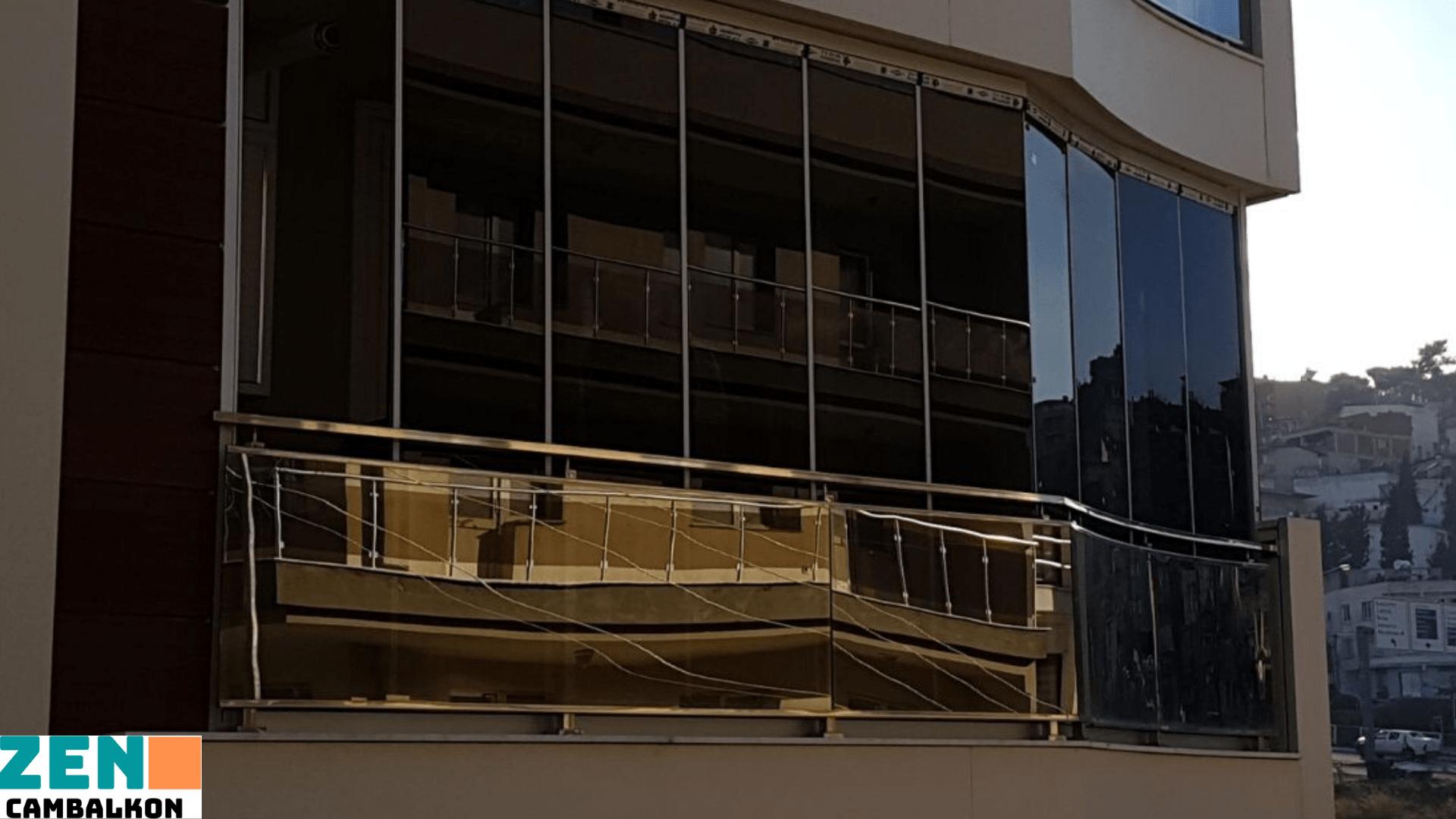 Bronz camlı katlanır cam İzmir