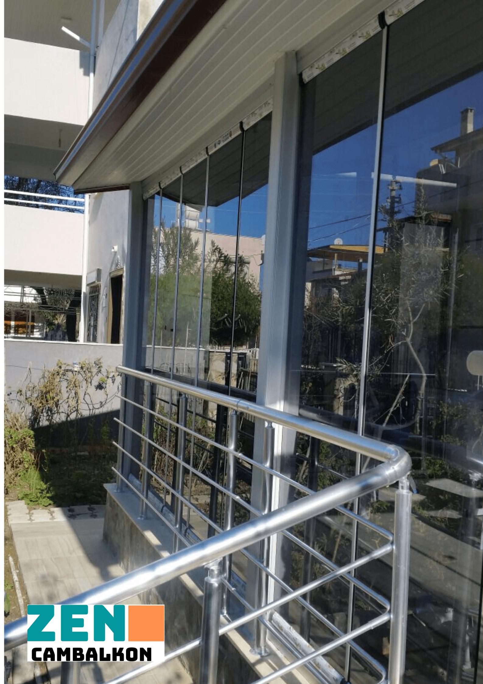 cam balkon önü küpeşte nasıl yapılır