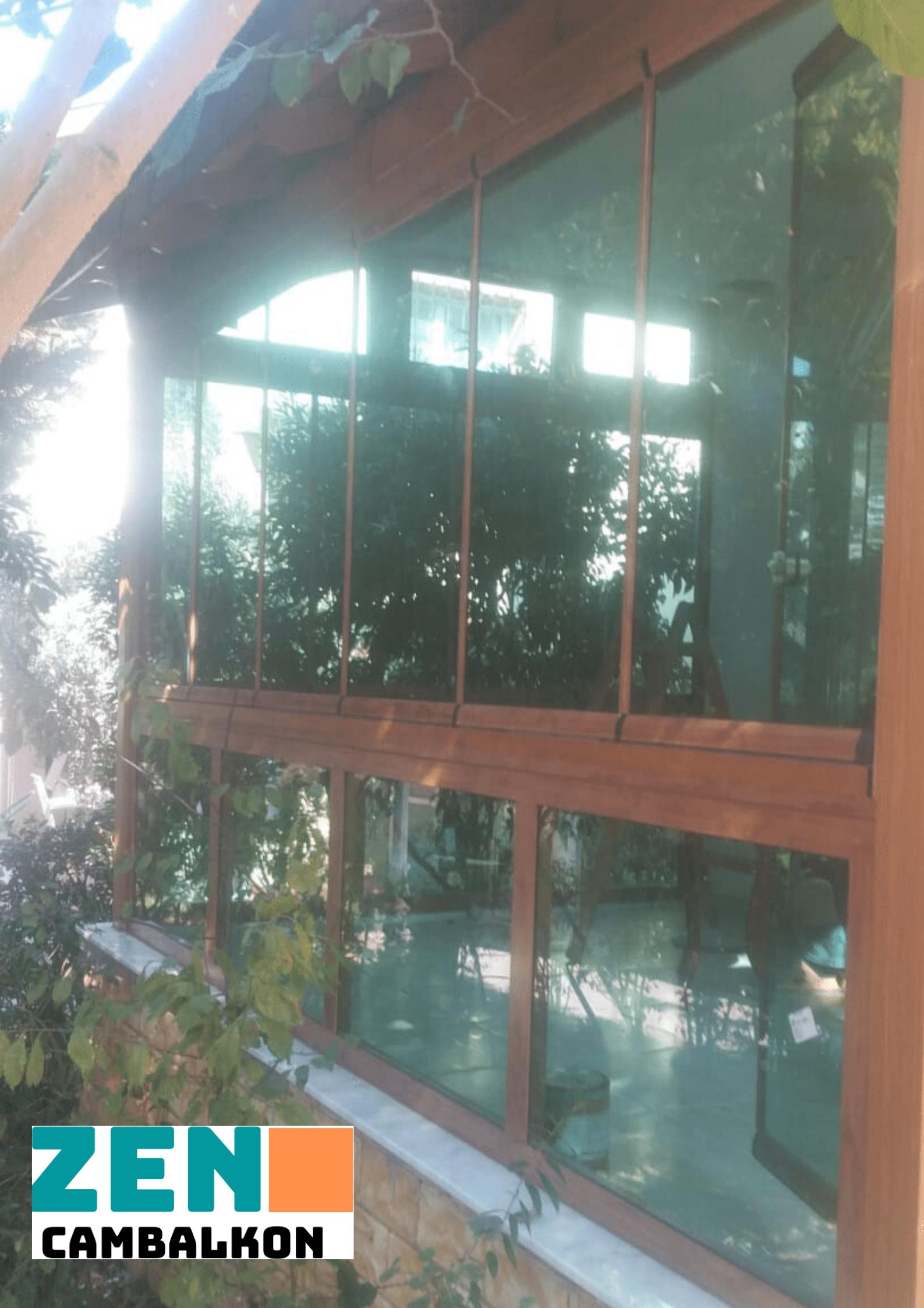Cam balkon teras kapatma İzmir