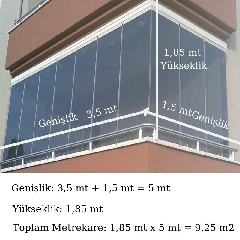 cam balkon fiyatı nasıl hesaplanır