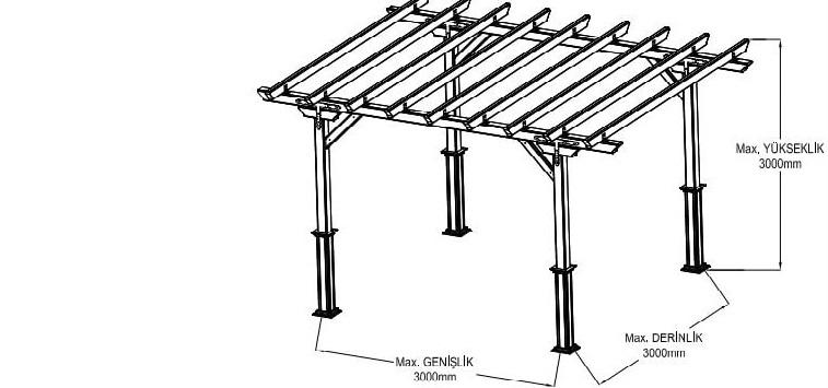 pergola tavan sistemleri