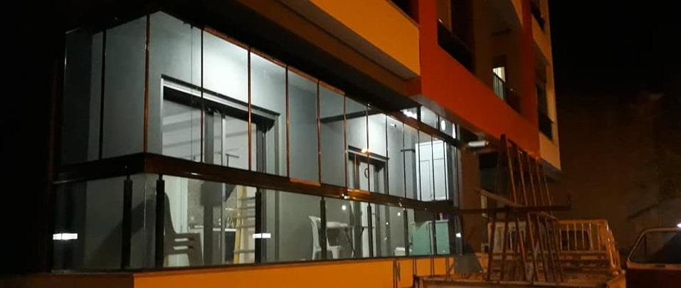 Füme renkli cam balkon renkleri