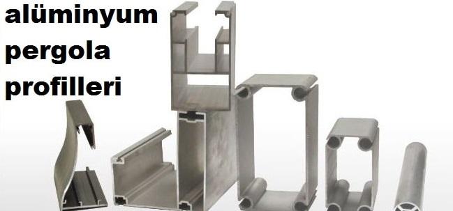 Alüminyum pergola görselleri