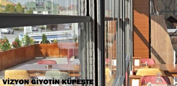 Hareketli motorlu küpeşte İzmir