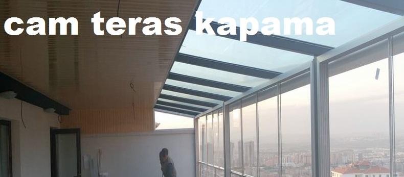 İzmir cam tavan pergola teras kapatma