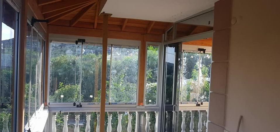 İzmir sürme cam balkon