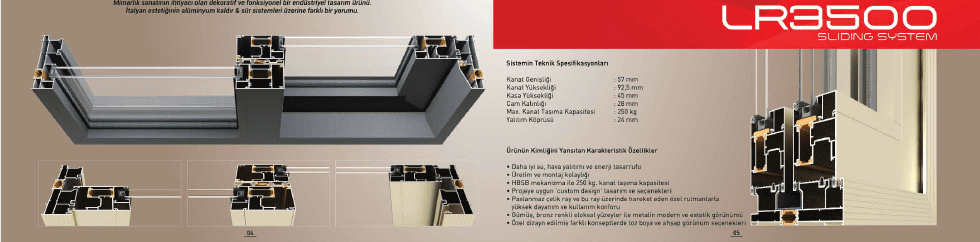 İzmir alüminyum doğrama