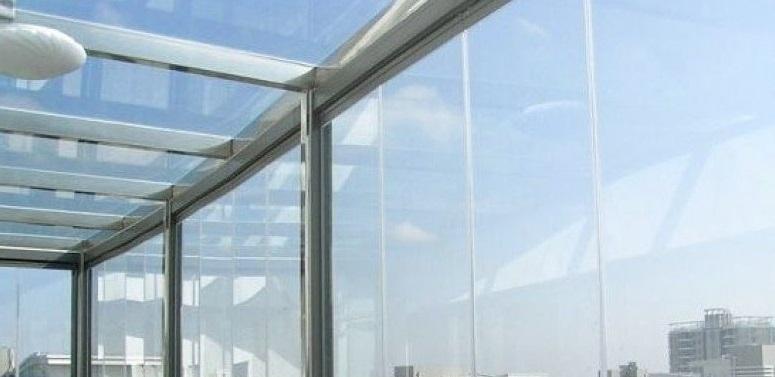 teras kapama sabit cam tavan çatı İzmir