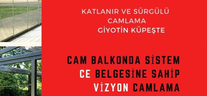 Giyotin cam İzmir