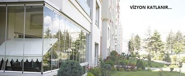 Vizyon katlanır cam balkon