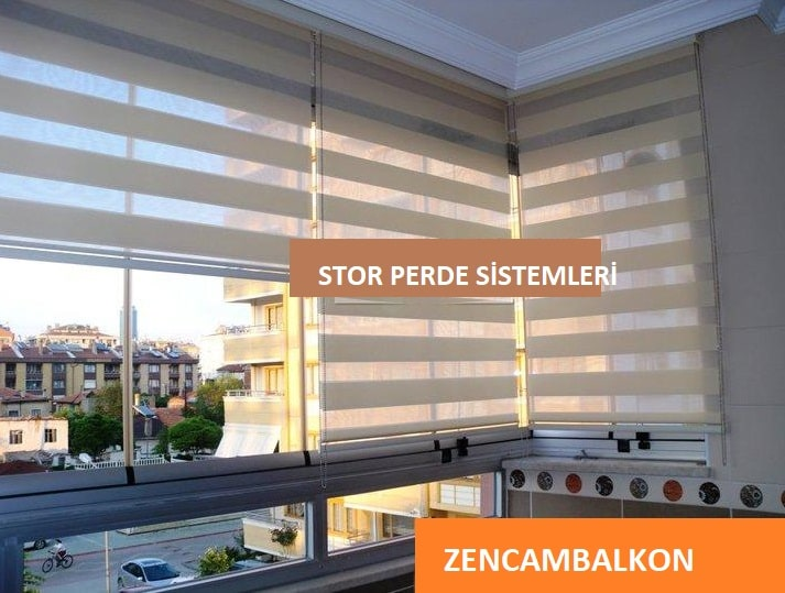 Cam balkon perde sistemleri