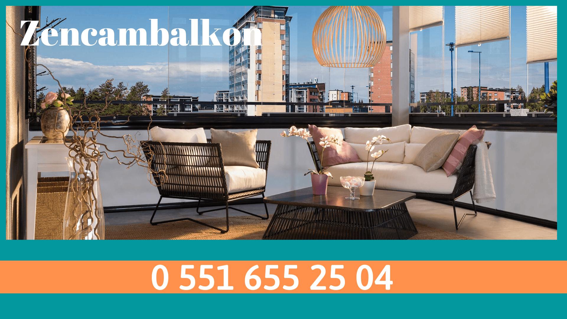Balkon camlama İzmir firması