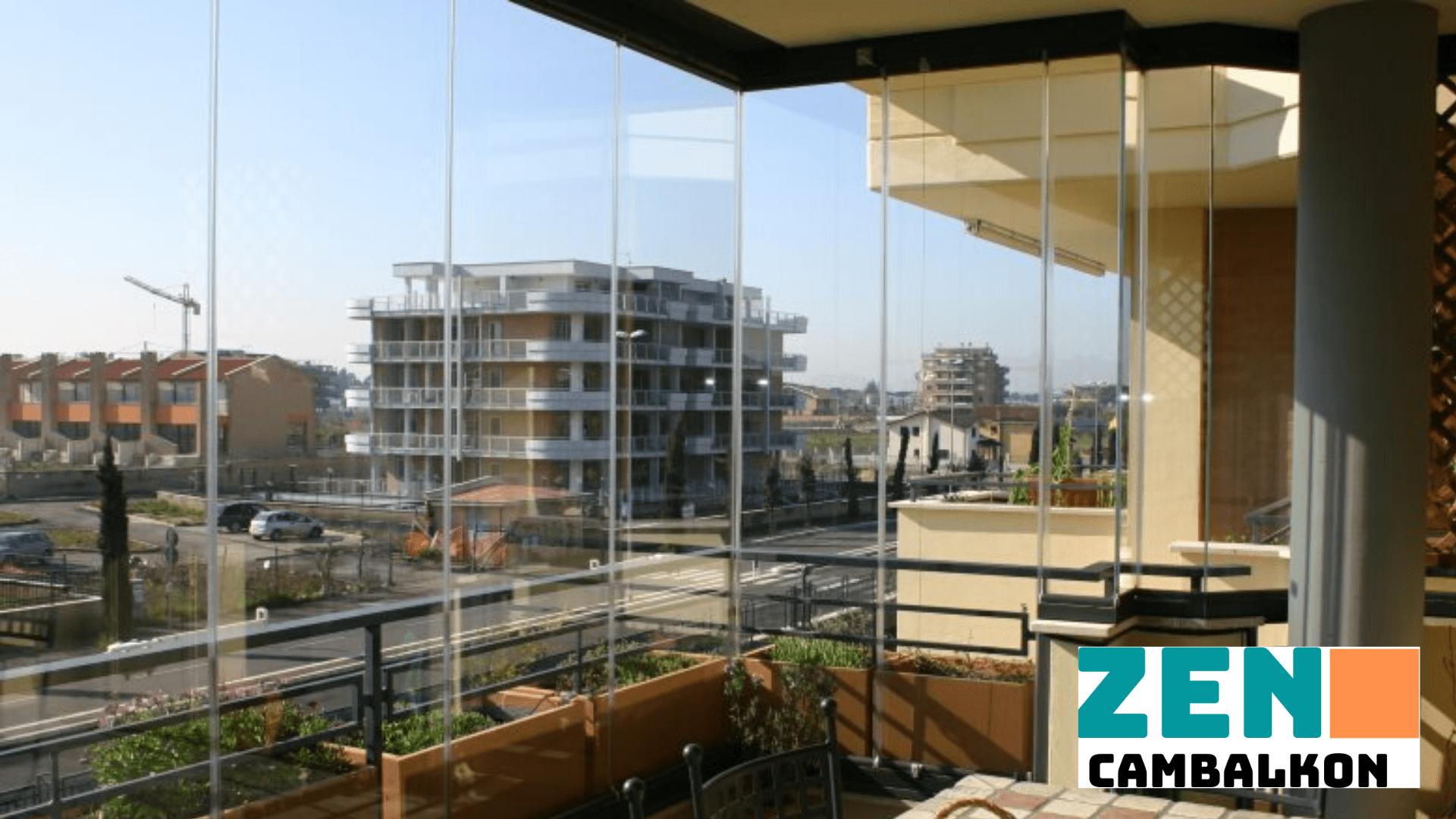Balkon için katlamalı cam İzmir