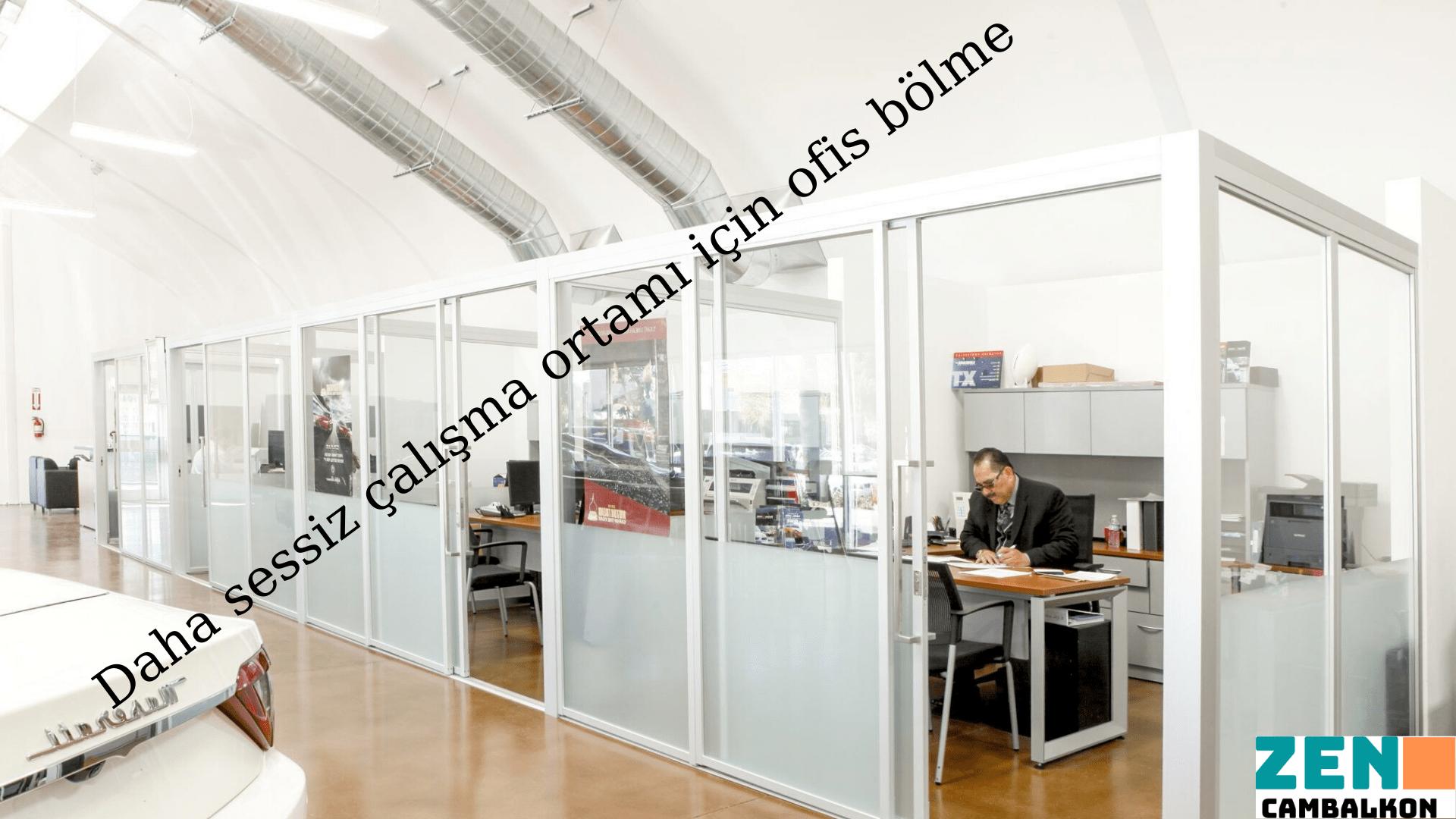 Büro bölme sistemleri İzmir