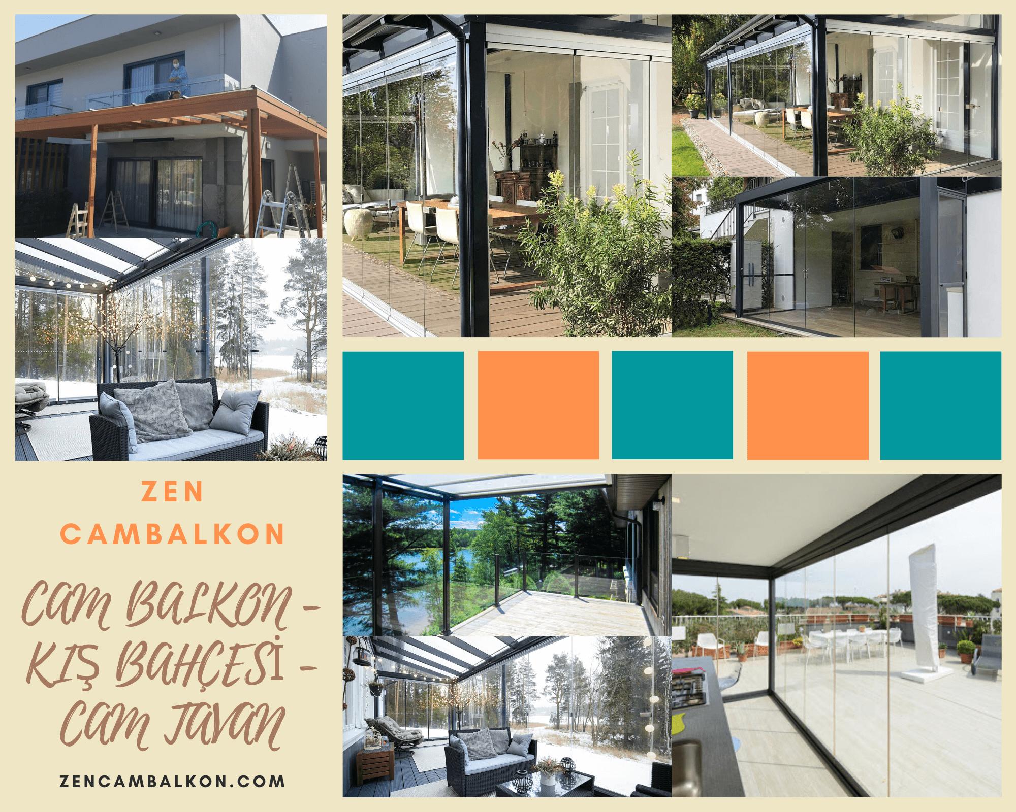 Cam balkon kış bahçesi seçenekleri