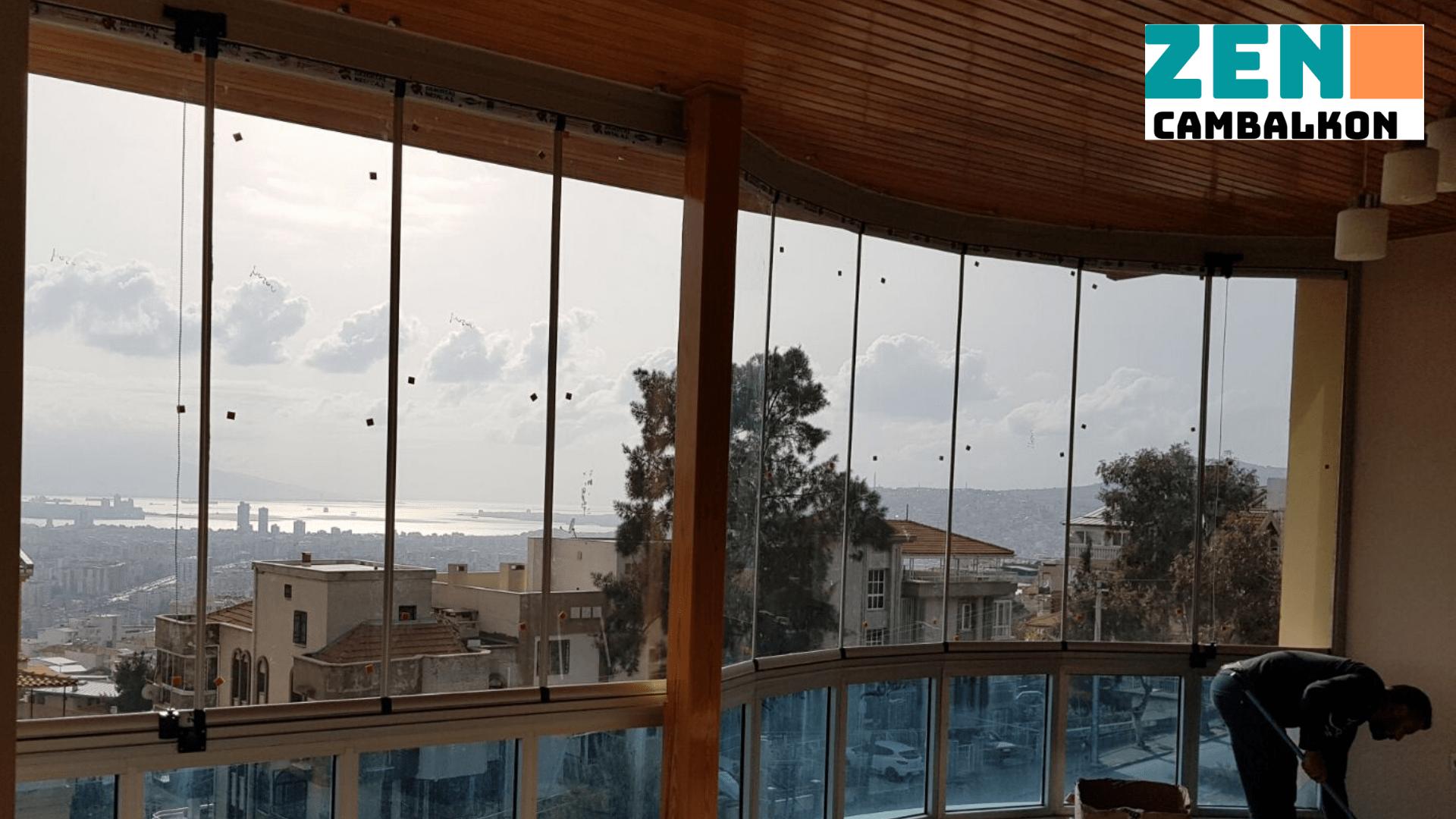 Teras kapama cam balkon İzmir