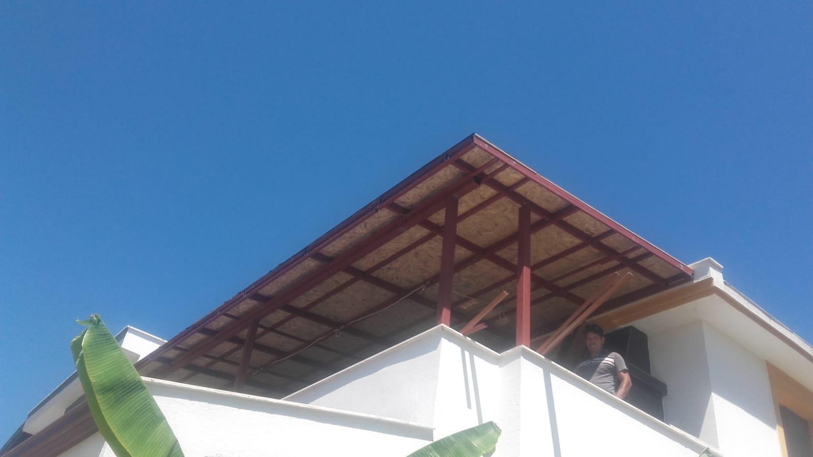 teras çatı yapımı izmir