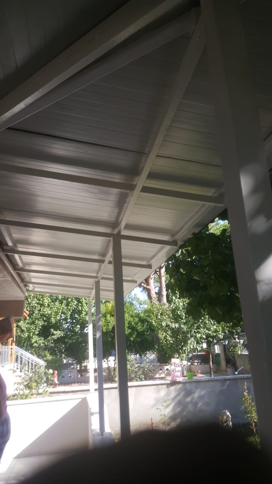 sandviç panel tavan kaplama kış bahçesi