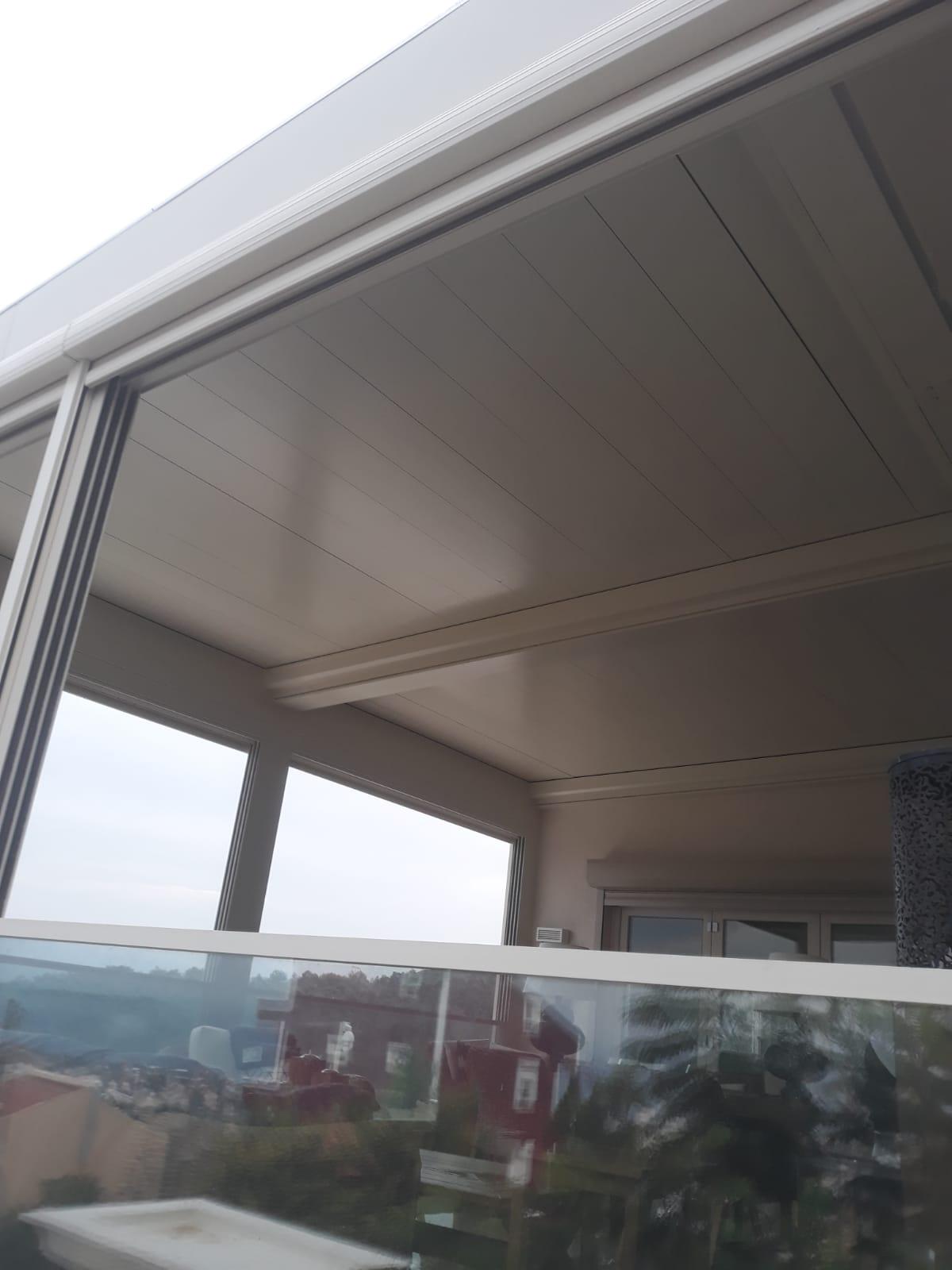 izmir pergola çatı tavan