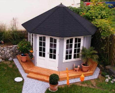 Şıngıl çatı örtülü kış bahçesi