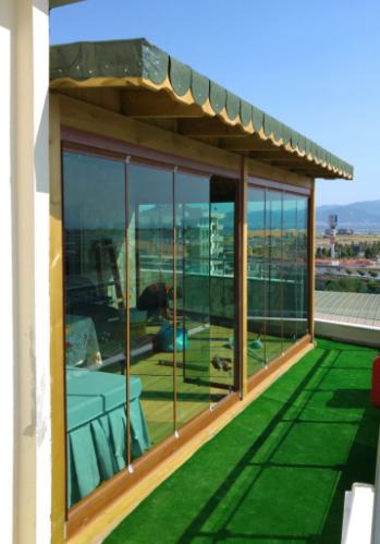 teras camlama izmir