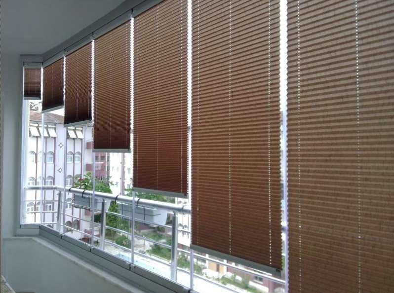 cam balkon için perde İzmir