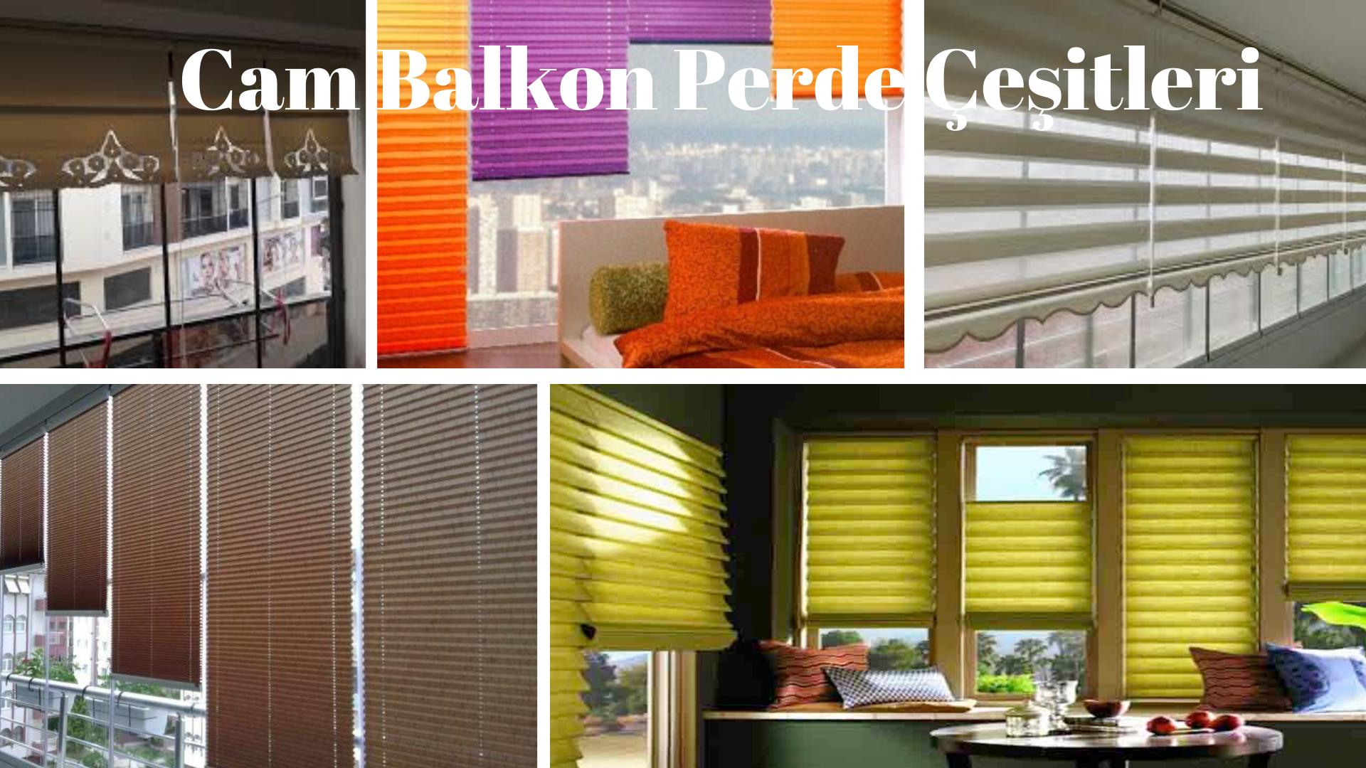 Cam balkon çeşitleri İzmir