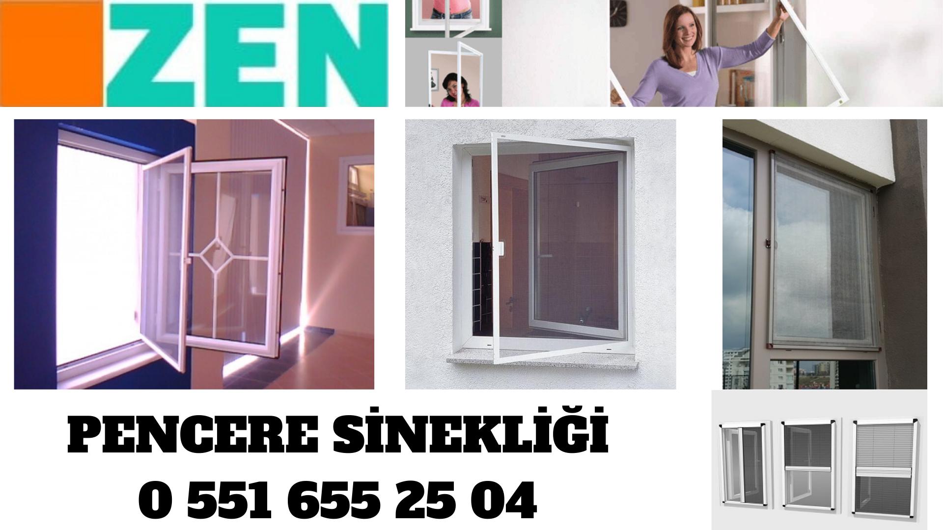 pencere sineklik modelleri İzmir