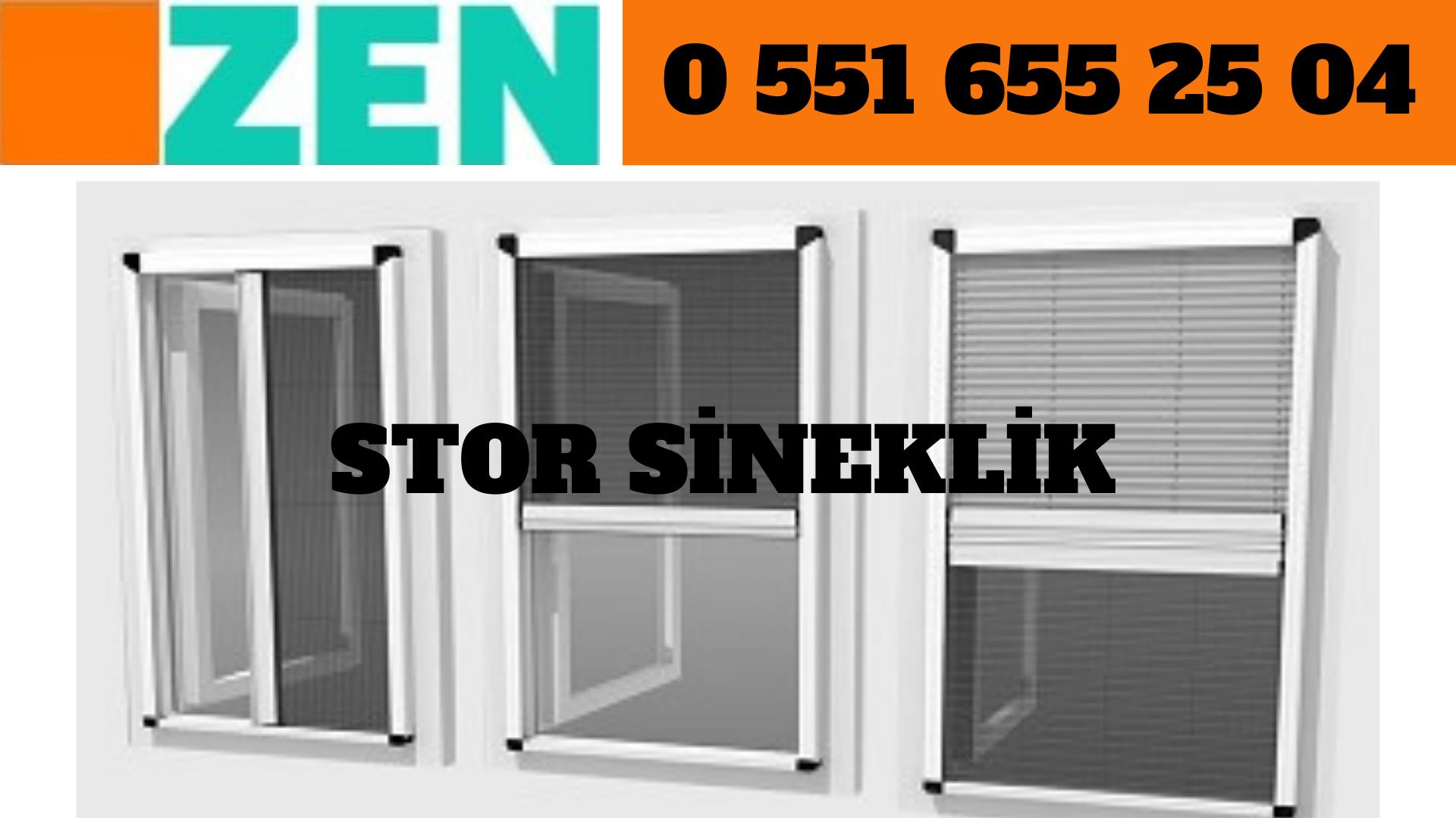 Stor sineklik pencere sistemleri İzmir
