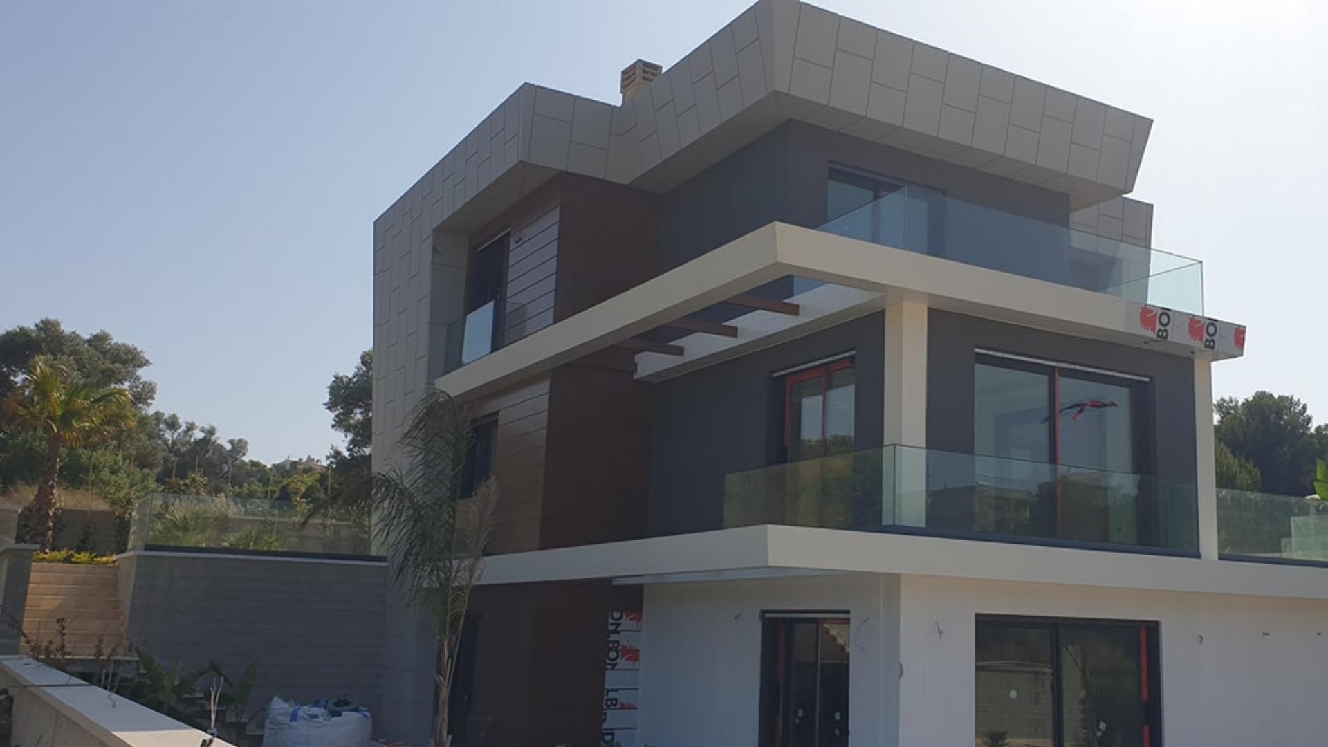Alüminyum mimari yapı sistemleri İzmir